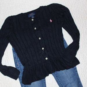 Ralph Lauren Polo Sweater Gap Jeans Size 5